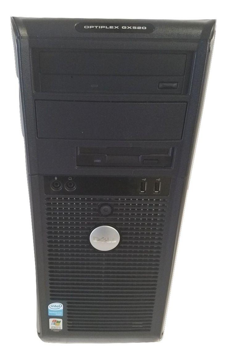 Dell Optiplex GX520 Intel Pentium 4 2.8GHz 80GB HDD 1GB Win Xp