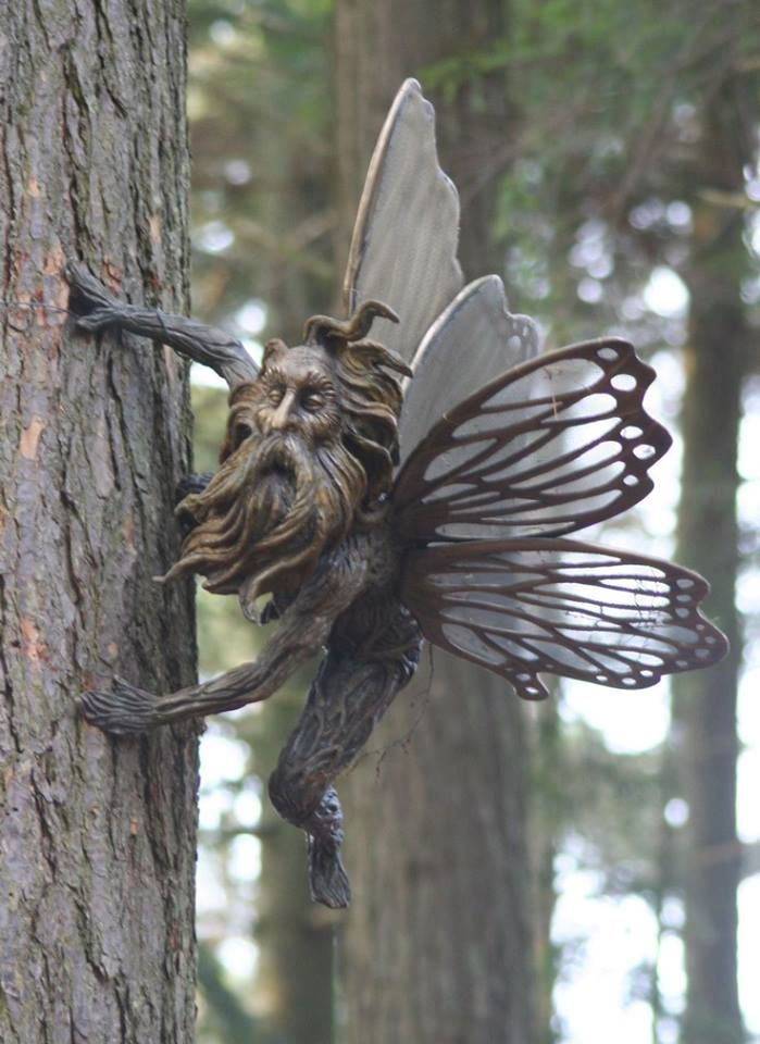 I want one.Forests, Wood Art, Fairies Gardens, Faeries, Trees, Old Wood, The Last Unicorns, Deran Wright, Fantasy Gardens
