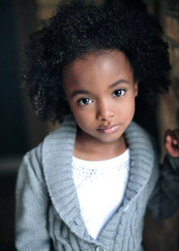 Black Little Girl Hairstyles For Short Curly Hair Style