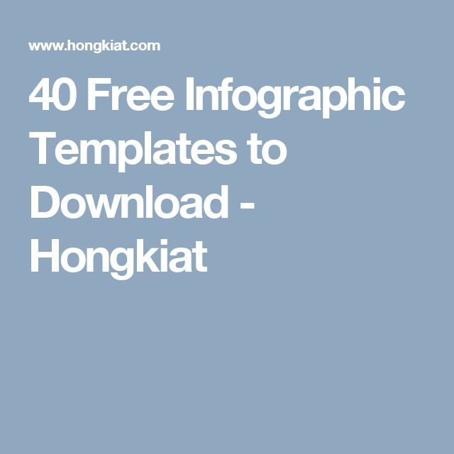 The 25+ best Free infographic templates ideas on Pinterest - free profile templates