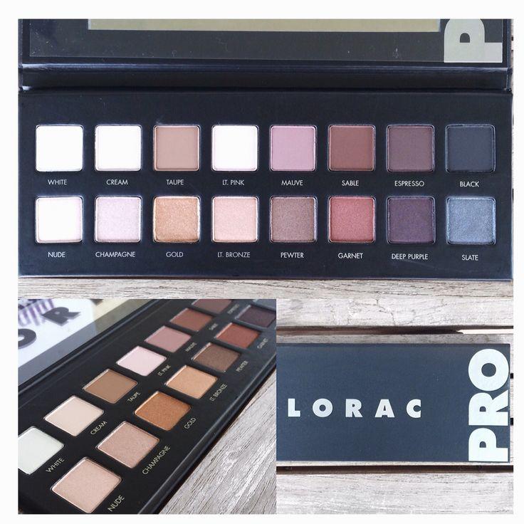 Lorac Pro Palette #palette #makeup