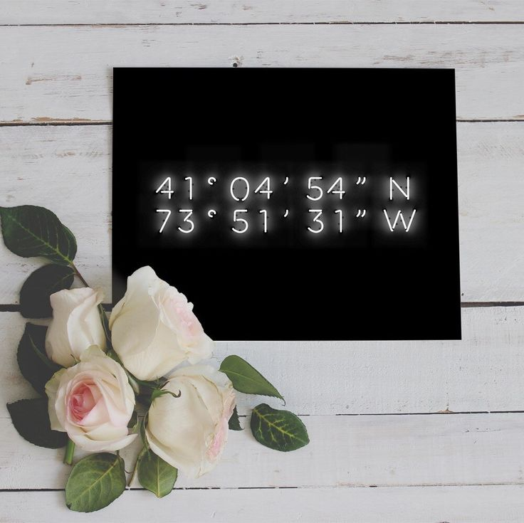 The perfect Valentines gift is just one print away. Custom coordinates printable in neon lighting magic, perfect for a monochrome wall.
