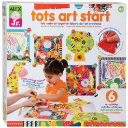 Tots+Art+Start+Toddler+Craft+Kit+$13.59 Alex+Toys'+Tots+Art+Start+Toddler+Craft+Kit+comes+with+6+works+of+art+that+your+little+can+create+with+all+the+craft+supplies+from+this+kit! http://www.educationaltoysplanet.com/tots-art-start-toddler-craft-kit.html