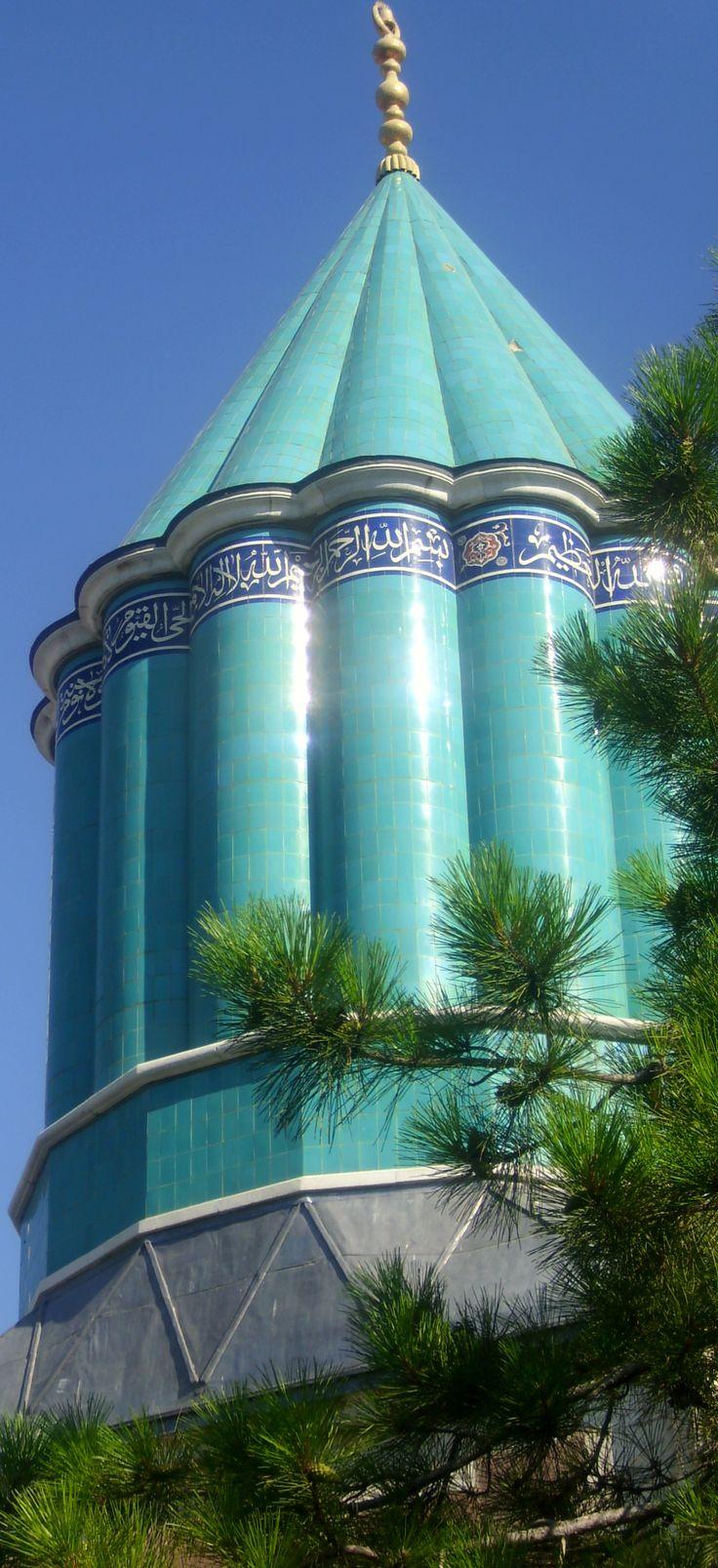 Tomb Of Mewlānā Jalāl ad-Dīn Muḥammad Balkhī (Molavi) - Jalal ad-Dīn Muhammad Rumi مولانا جلالالدین محمد بلخی - مولوی  Konya