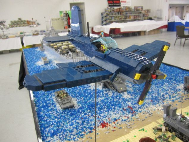 Incredible 500,000-Piece Lego Recreation of Famous World War II Battle