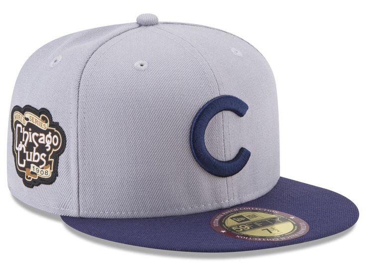 4659c873762 Chicago Cubs New Era MLB Ultimate Patch Collection World Series 59FIFTY Cap