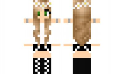minecraft skin pretty-girl-edited