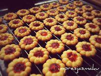 IMPRESJA smaku...: Kruche ciasteczka z dżemem