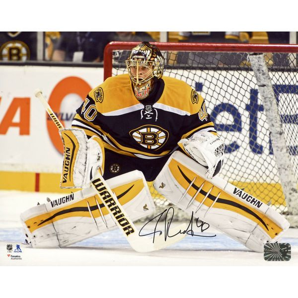 "Tuukka Rask Boston Bruins Fanatics Authentic Autographed 8"" x 10"" Horizontal In Net Photograph - $99.99"