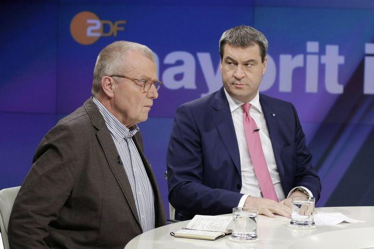 Bild zu CDU-Außenpolitiker Ruprecht Polenz, Markus Söder, Bayern, Finanzminister