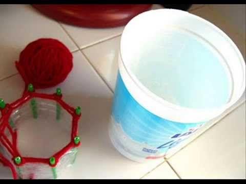Como construir un Telar Redondo con una Botella de Plastico.wmv - YouTube