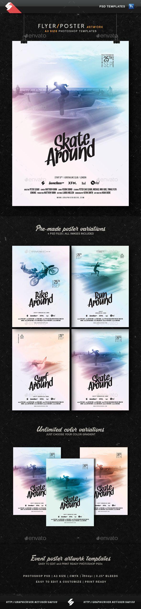 Best 25 Event flyers ideas – Azure Flyer Template
