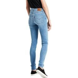 Levis 721 High Rise Skinny Jeans in hellblauer Waschung Levi