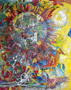 """Saatchi Art Artist Igor Eugen Prokop; Painting, """"Aquila  non   captat  muscas II."""" #art"""