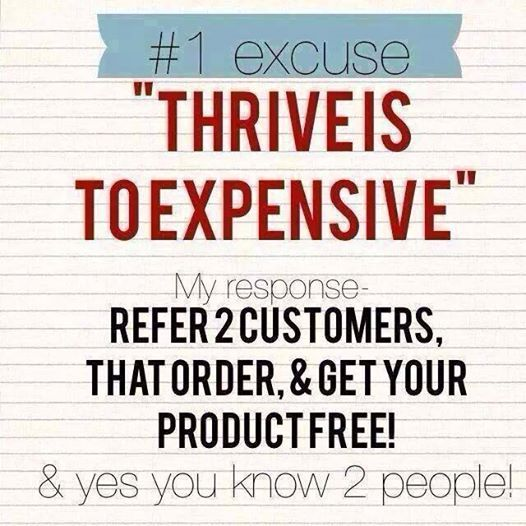 Yes, you do know 2 people. Sign up for free today as either a promoter or customer and refer 2 and you will get your product for free. Let me show you how. Message me with your email address and I will set you up a free account! www.goingtothrive.com