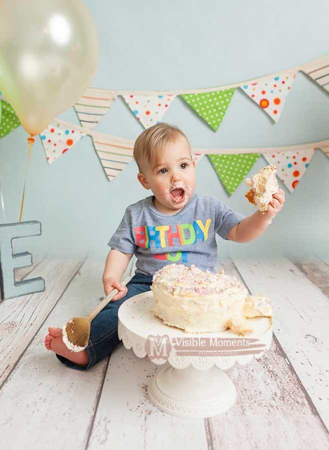 boy cake smash dublin photograper first birthday
