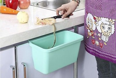 1 stks grote opknoping prullenbak keuken afval bin sundriesopslag vat voor keuken schoon(China (Mainland))