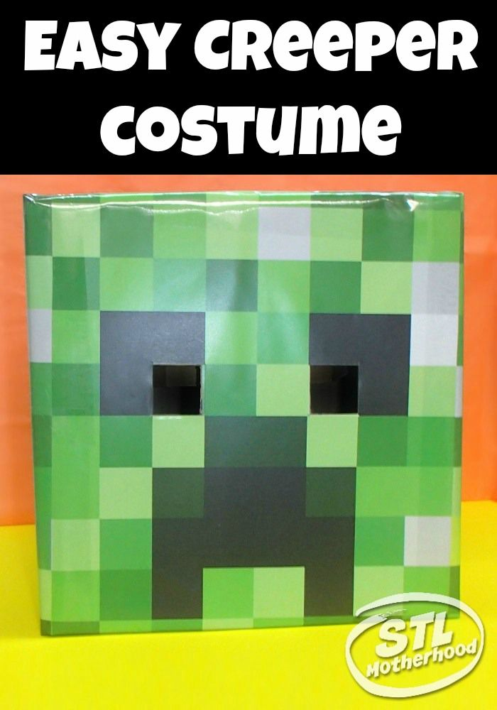 285 best minecraft crafts and tips images on pinterest birthdays diy tutorial minecraft creeper costume thats comfy to wear and easy to make great for solutioingenieria Images
