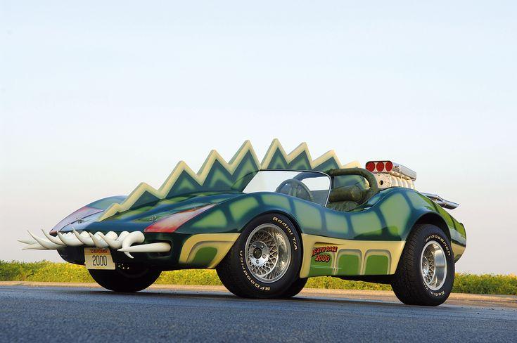 Death Race 2000 - Frankenstein's Chevy Corvette Roadster