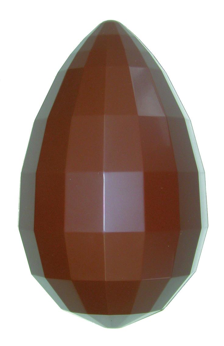 faceted choco egg - design luigi siard
