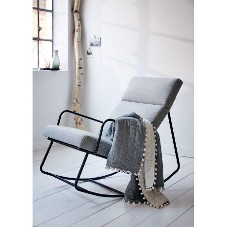 gepolsterte schaukelst hle f r wohnzimmer m belideen. Black Bedroom Furniture Sets. Home Design Ideas