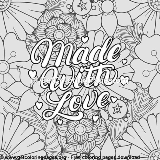 - Please Like Free Downloads @getcoloringpages #getcoloringpages #doodle # Doodles #doodleart… (With Images) Love Coloring Pages, Free Adult Coloring  Printables, Coloring Pages