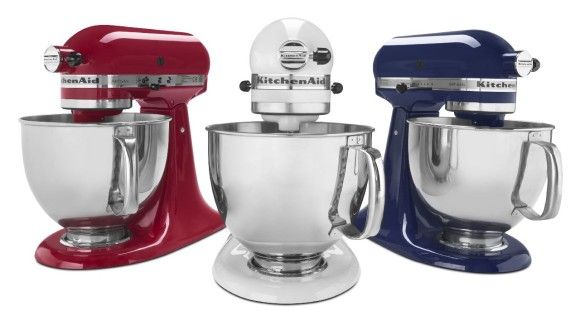Red White Blue KitchenAid  I have been lucky enough to have had all three colors!!!!