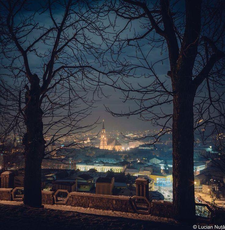 Cluj-Napoca at night!