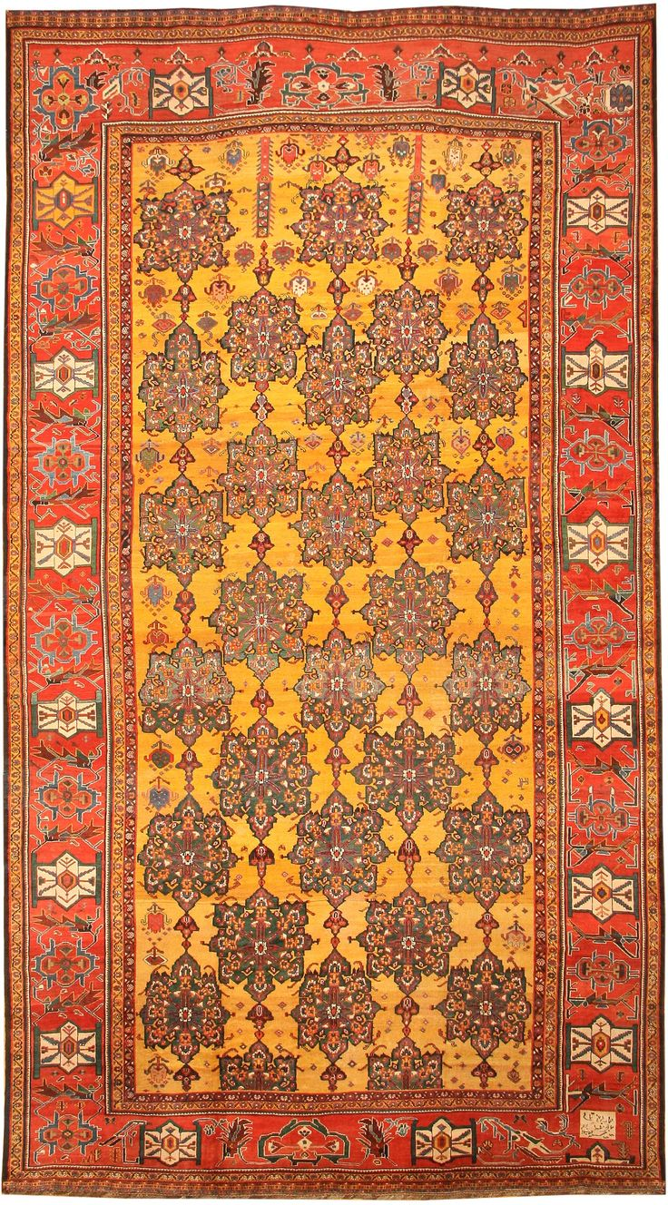 Antique Bakhtiari Persian Rug 43345 Main Image By Nazmiyal Spring 2016 Trends