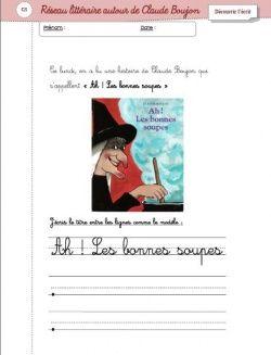 Projet littéraire : Claude Boujon
