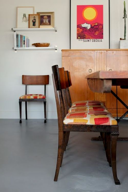 dining chair upholstery tutorial (something i never thought i would need a tutorial for, but this has some really good tips)