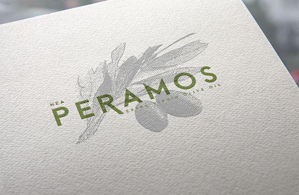 NEA PERAMOS Olive Oil Branding on Behance