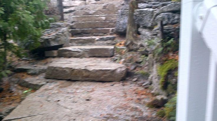 http://www.gordonbartleyconstruction.com/  Limestone stairs