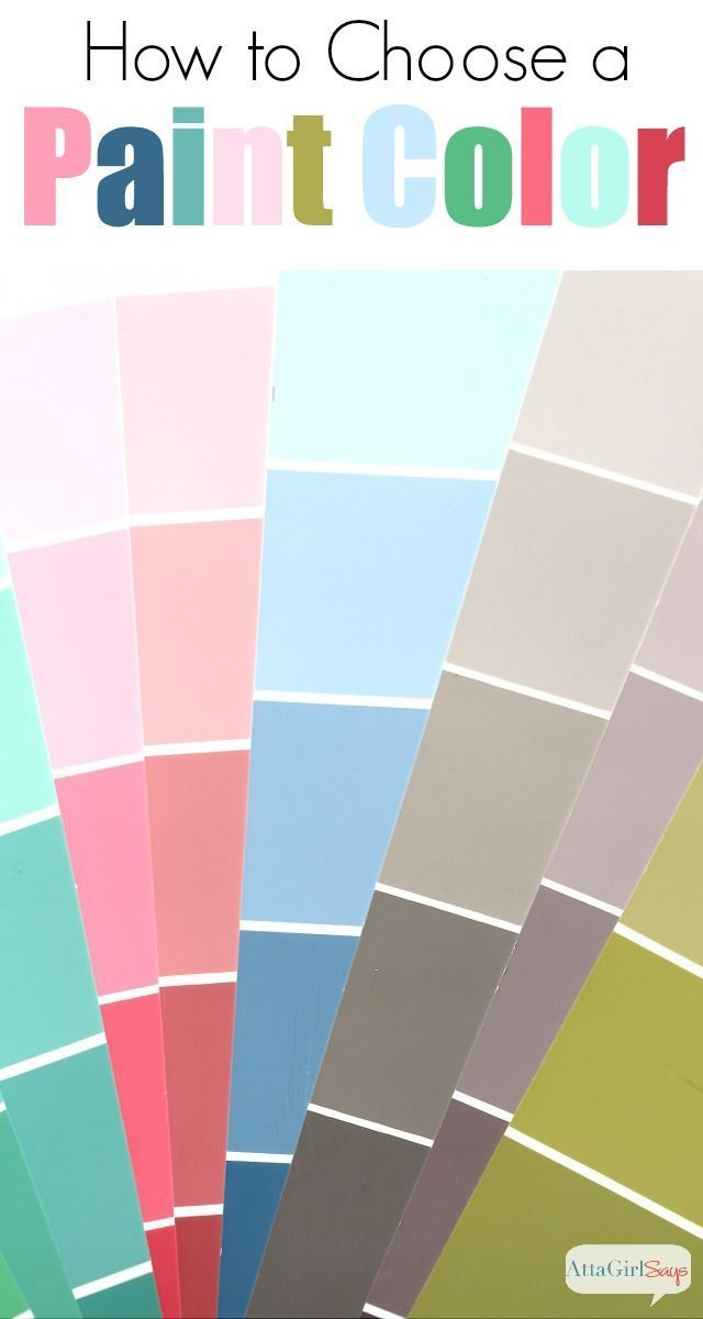 Atta Girl Says | 12 Tips for Choosing Paint Colors | http://www.attagirlsays.com
