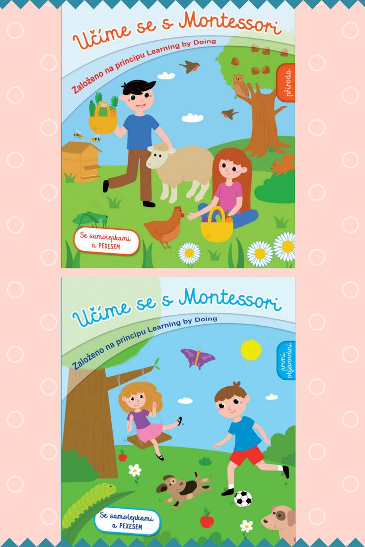 Tato knížka seznamuje děti s různými činnostmi a věcmi, díky nimž se lépe seznámí s okolním světem. Vychází z metod pedagogiky Montessori, která pomáhá dětem rozvíjet se vlastním tempem, podporuje jejich sebedůvěru a samostatnost.  #aktivity #montessori #kniha #deti #uceni #metoda