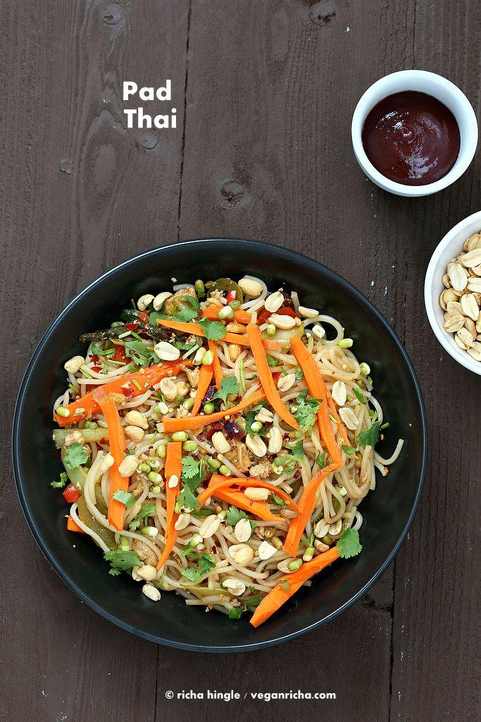 Pad Thai from Everyday Vegan Eats by Zsu Dever. Photo by Vegan Richa