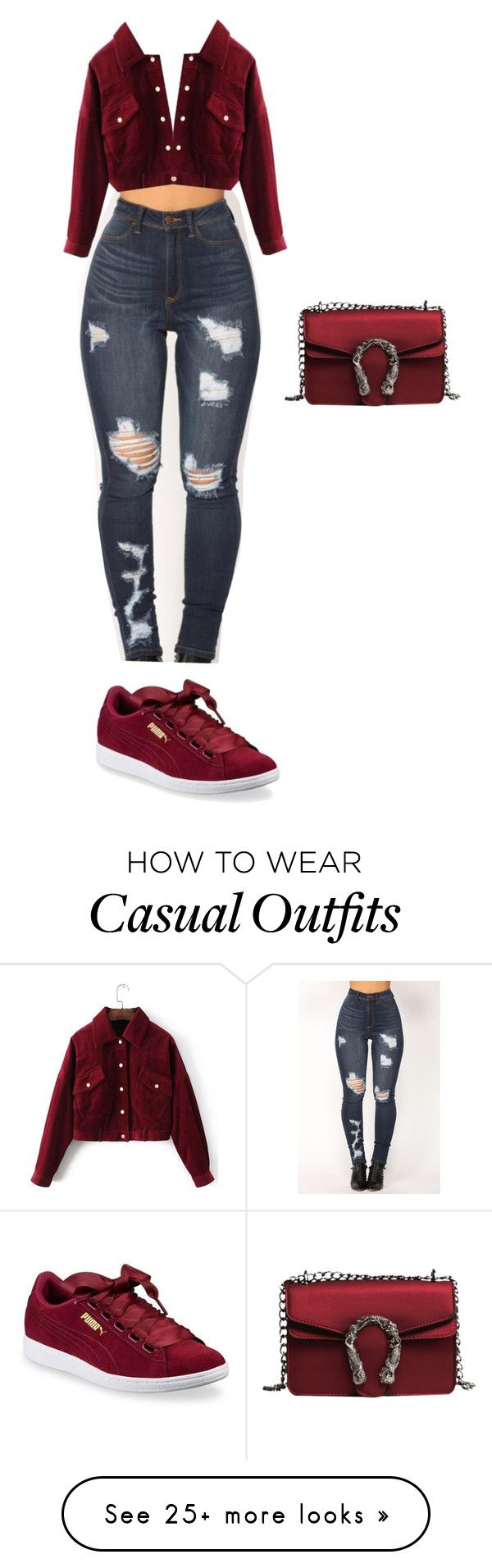 """""""Bürg"""" by lolitsbrit on Polyvore featuring Puma"""