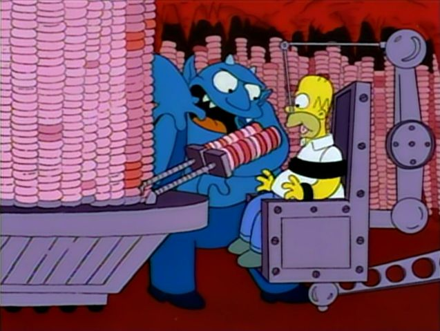 The Simpsons 'Treehouse of Horror IV'