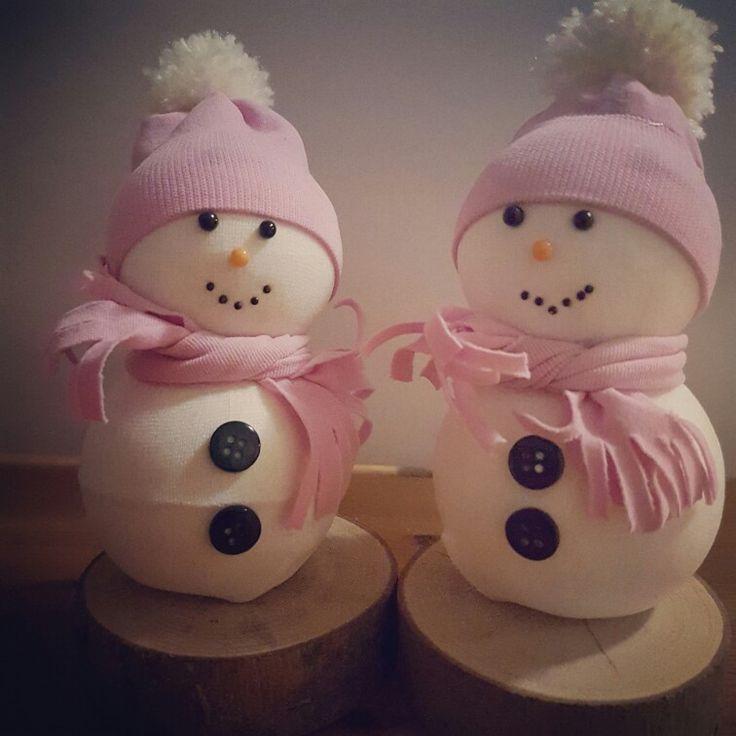Pupazzi di neve  #lecreazionidiMalu'#