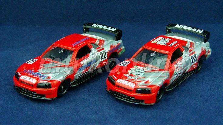 TOMICA 40 NISSAN SKYLINE GT-R 1999 | R34 | 1/61 | JGTC 2002 NISMO #22 & #23