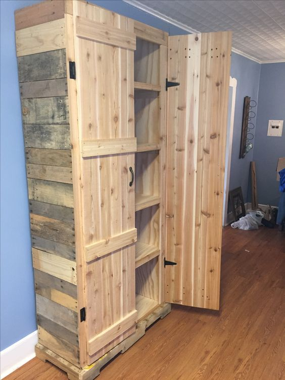 17 best ideas about pallet pantry on pinterest make