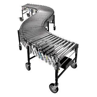 Powered Expanding Roller Conveyor