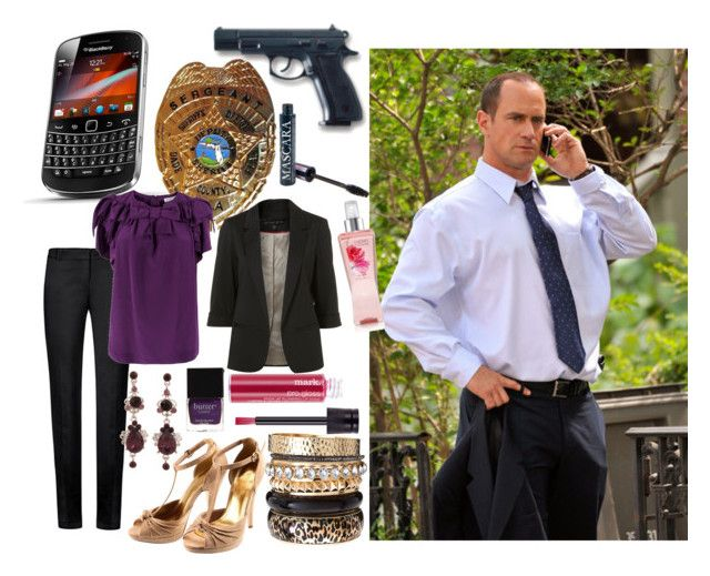 Elliot Stabler by duke03 on Polyvore featuring See by Chloé, MANGO, H&M, River Island, Jack Wills, Butter London, POLICE and law and order svu elliot stabler