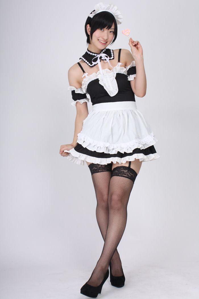 メイド服+ガーターベルト+キャンディ その4の画像 | 倉持由香オフィシャルブログ「まいにちくらもっち。」Powered by…