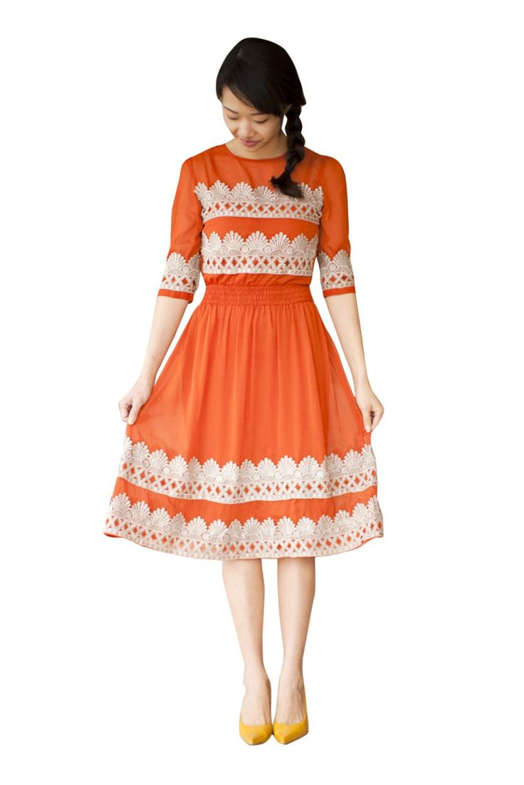 Georgette Designer Kurti in White Colour...