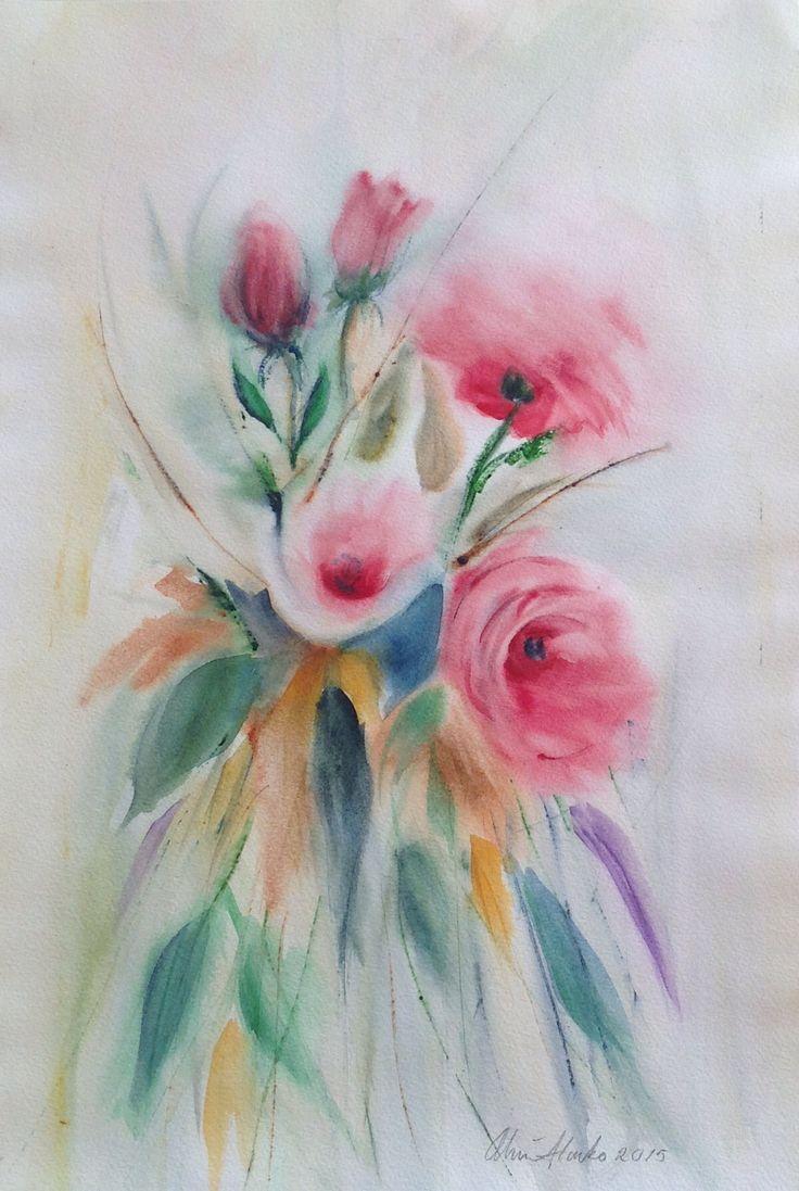 Watercolor 2015, Olavi Alanko