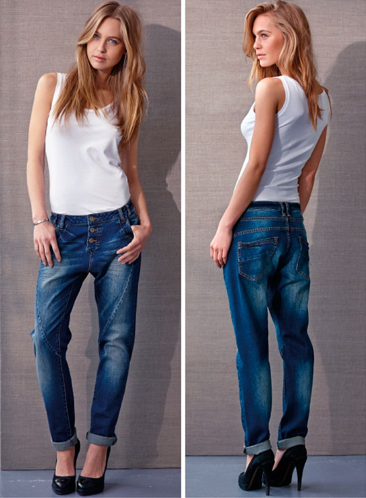 Denim Boyfriend jeans #vilaclothes #vila #denim