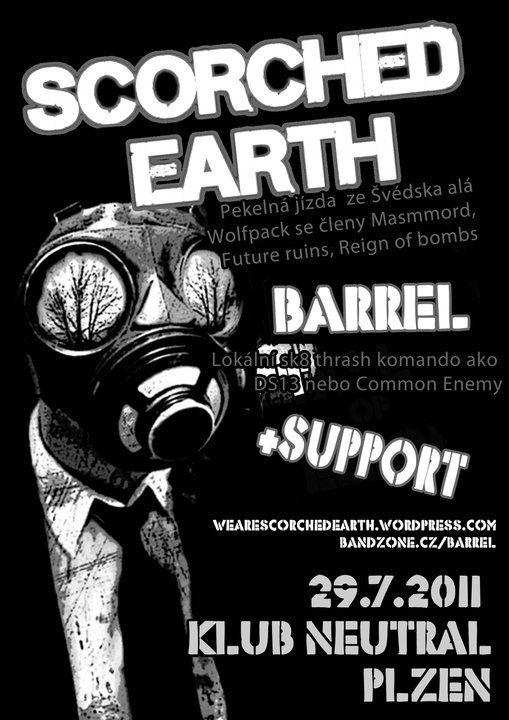 Scorched Earth (SWE), Barrel (CZ)