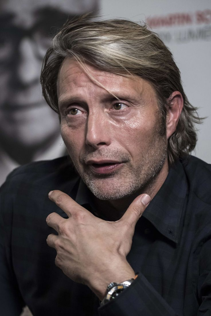[October 14] 7th Festival Lumiere - Press Conference - 002 - Mads Mikkelsen Source