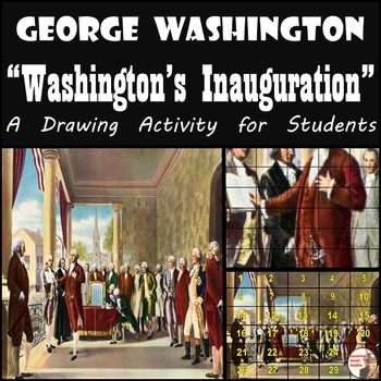 "George Washington - Washington's Inauguration.  Ramon de Elorriaga's ""Washington's Inauguration"" is one of the most recognized paintings in American history, as well as the first glimpse at our nation's fist president.  ""Washington's Inauguration"" will be a great addition to your lesson on Washington's presidency, the beginning of the American government, and/or the presidency of the United States."